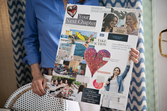 vision board created by Carl Adler